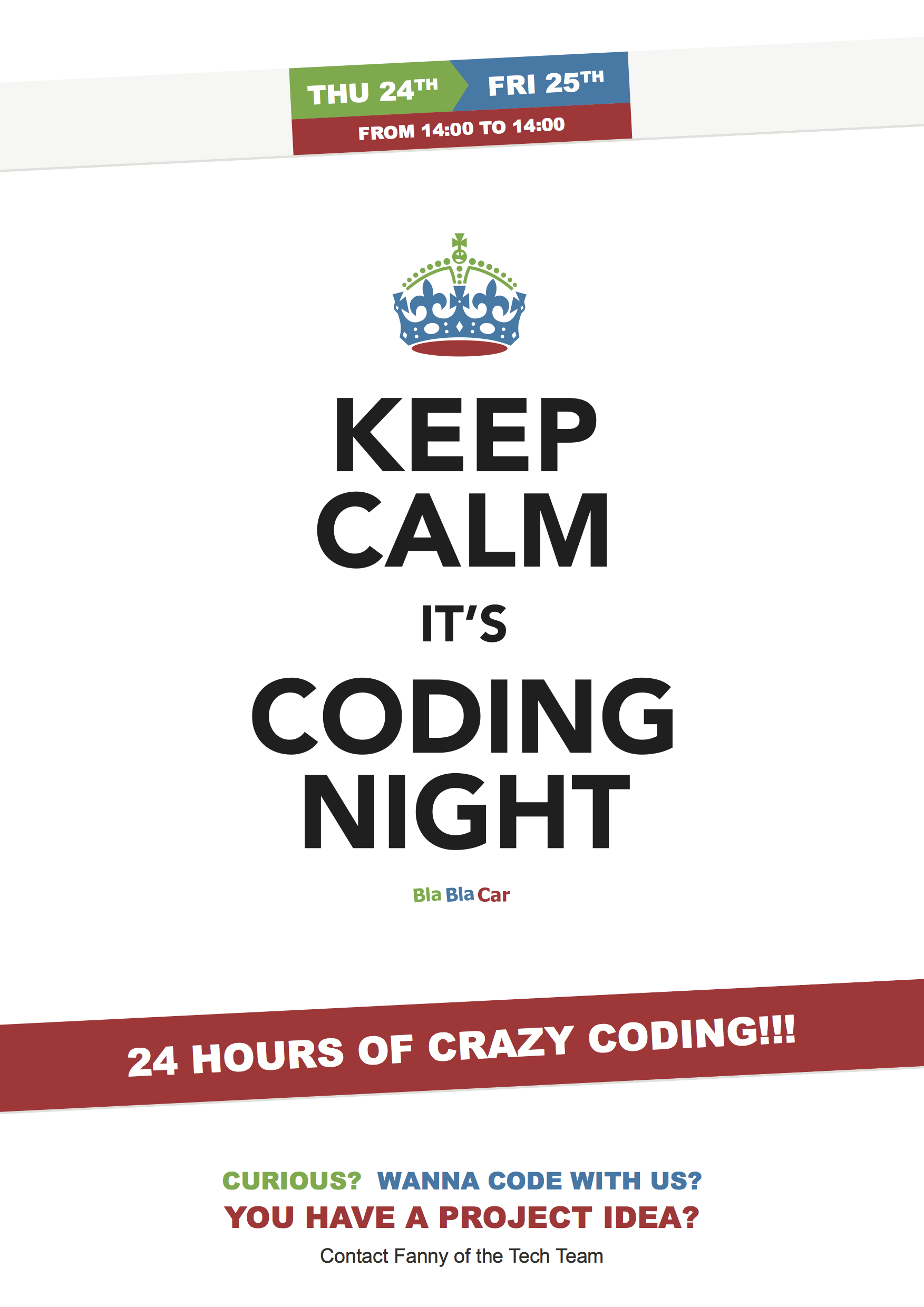 2nd Coding Night at BlaBlaCar