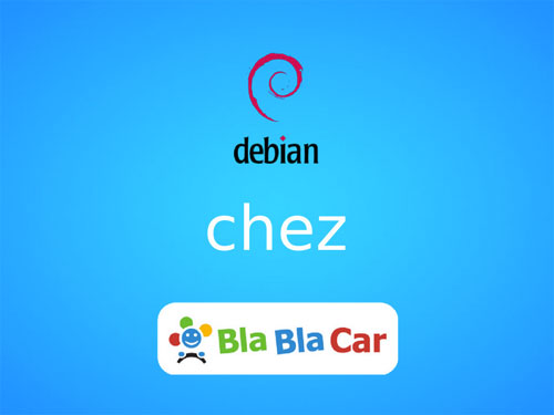 Debian usage at BlaBlaCar