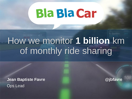 How we monitor 1 billion km of monthly ride sharing