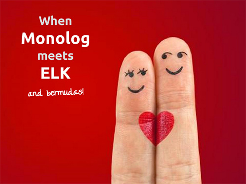 When monolog meets ELK (& bermudas!)